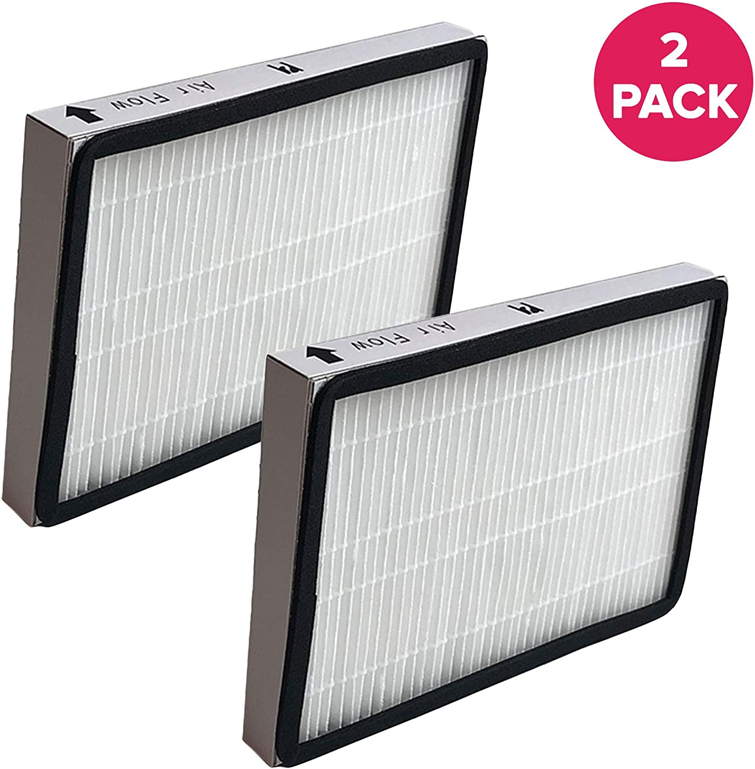 Crucial Vacuum Replacement Vacuum Filter Part # 86889, 20-86889, 40324 - Compatible with Kenmore Vacs - Kenmore EF1 HEPA Style Filter Fits Whispertone & Progressive - for Home Use (2 Pack)