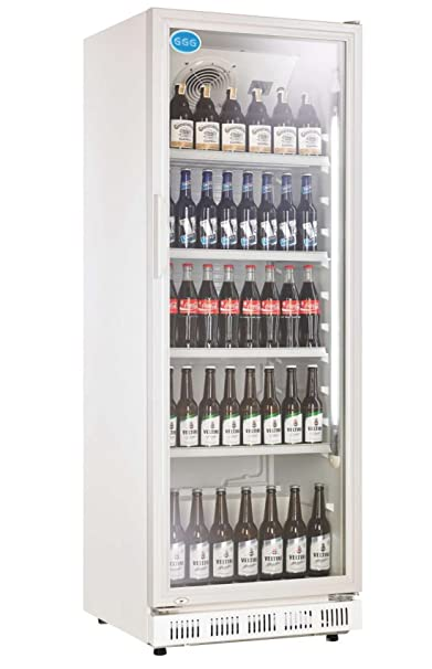 Nevera para botellas con puerta de cristal, 230 litros, nevera ...