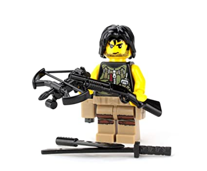SKU59 made with real LEGO® minifigures Urban Sniper Team Custom Army Soldiers