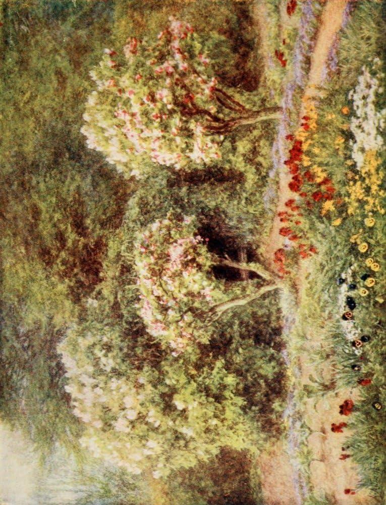 Posterazzi Arbour in Kitchen Garden Poster Print by Helen Allingham, (24 x 36), Varies