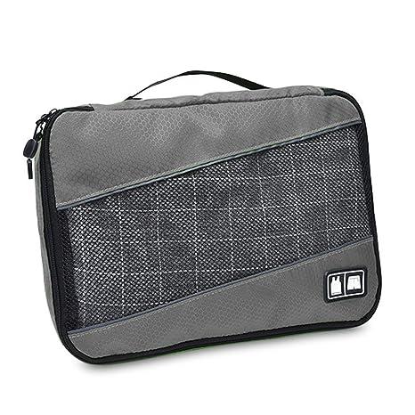 Cubos de embalaje, 3 pcs tamaño de equipaje Organizador de Viaje Organizador bolsa equipaje mochila