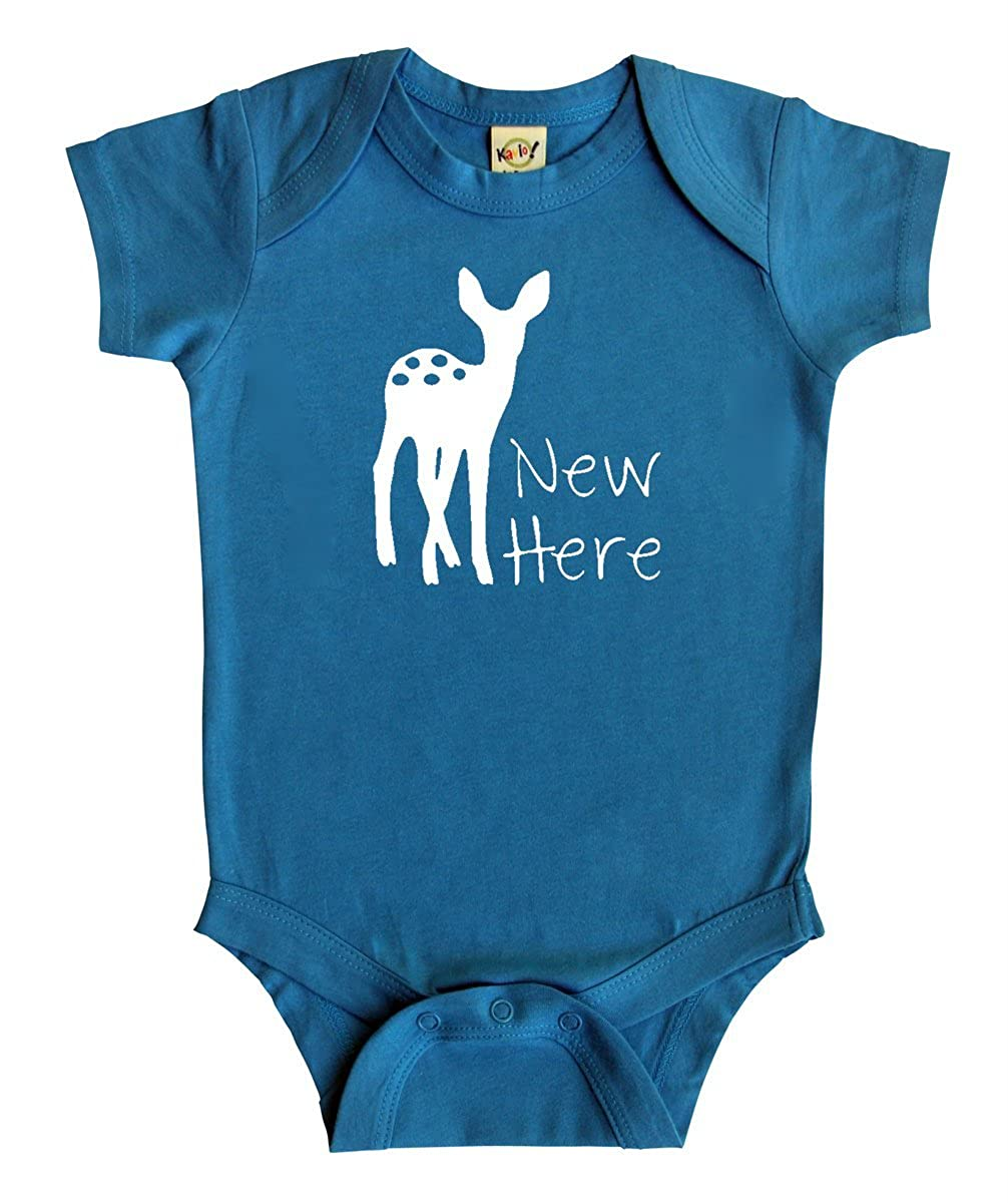 New Here Baby Bodysuit