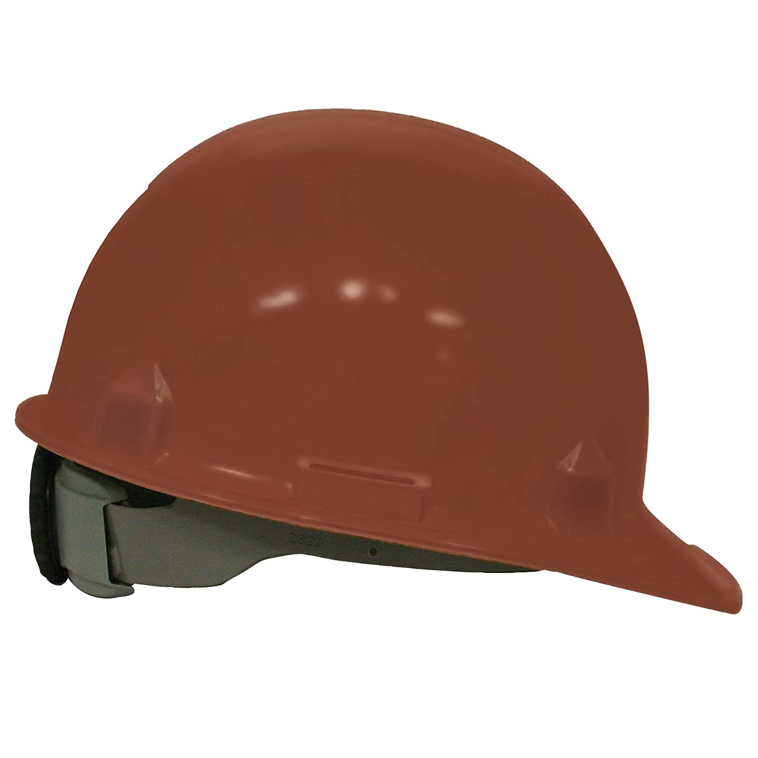 Jackson Safety 14836 SC-6 High Density Polyethylene Hard Hat with 4 Point Ratchet Suspension, Brown (Pack of 12) by Jackson Safety B008D7TMQ0