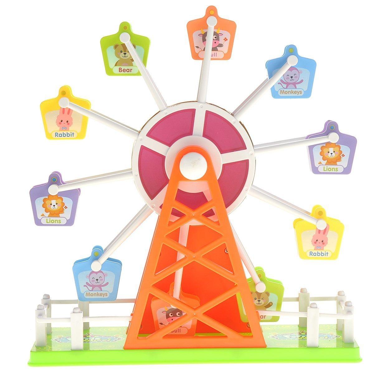 格安即決 AMPERSAND SHOPS Kids Fair Light-Up Music Ferris Wheel Toy with SHOPS Fair Music B072883GQM, 瀬戸田町:517db9ca --- arcego.dominiotemporario.com