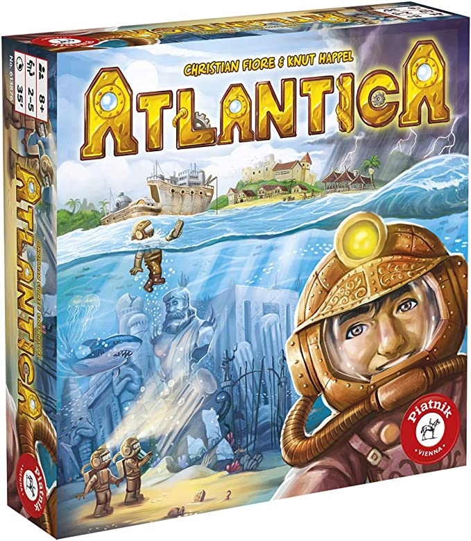 Piatnik pia06138 – Atlantica: Amazon.es: Juguetes y juegos