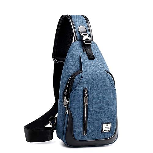 5c591979f3 weiatas Zaino Crossbody Sling bag petto spalla borse per uomo e donna,  viaggi, Business