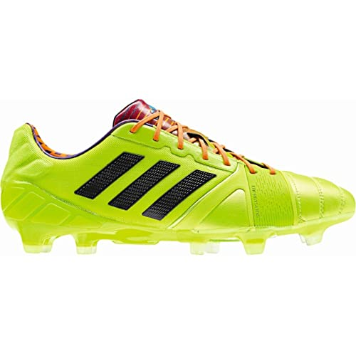 the latest 49449 97315 adidas Nitrocharge 1.0 TRX FG Football Boots Solar Slime Black Solar Zest -  size