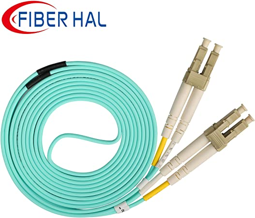 25M Armored cable LC to LC,50//125,Duplex Fiber Patch Cord Jumper,LC-LC,Multimode