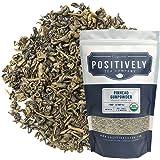 Positively Tea Company, Organic Pinhead Gunpowder, Green Tea, Loose Leaf, 16 Ounce