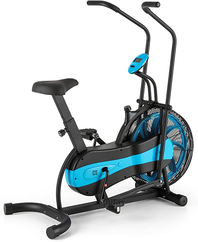 CapitalSports Capital Sports Bicicleta elíptica ergómetro: Amazon ...