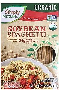 Simply Nature USDA Organic Soybean Gluten Free Vegan Spaghetti - 7.05 oz