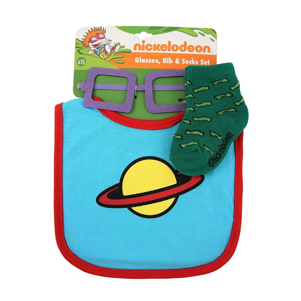 Amazon.com: Nickelodeon Baby Boys Chuckie Finster Glasses Bib and ...