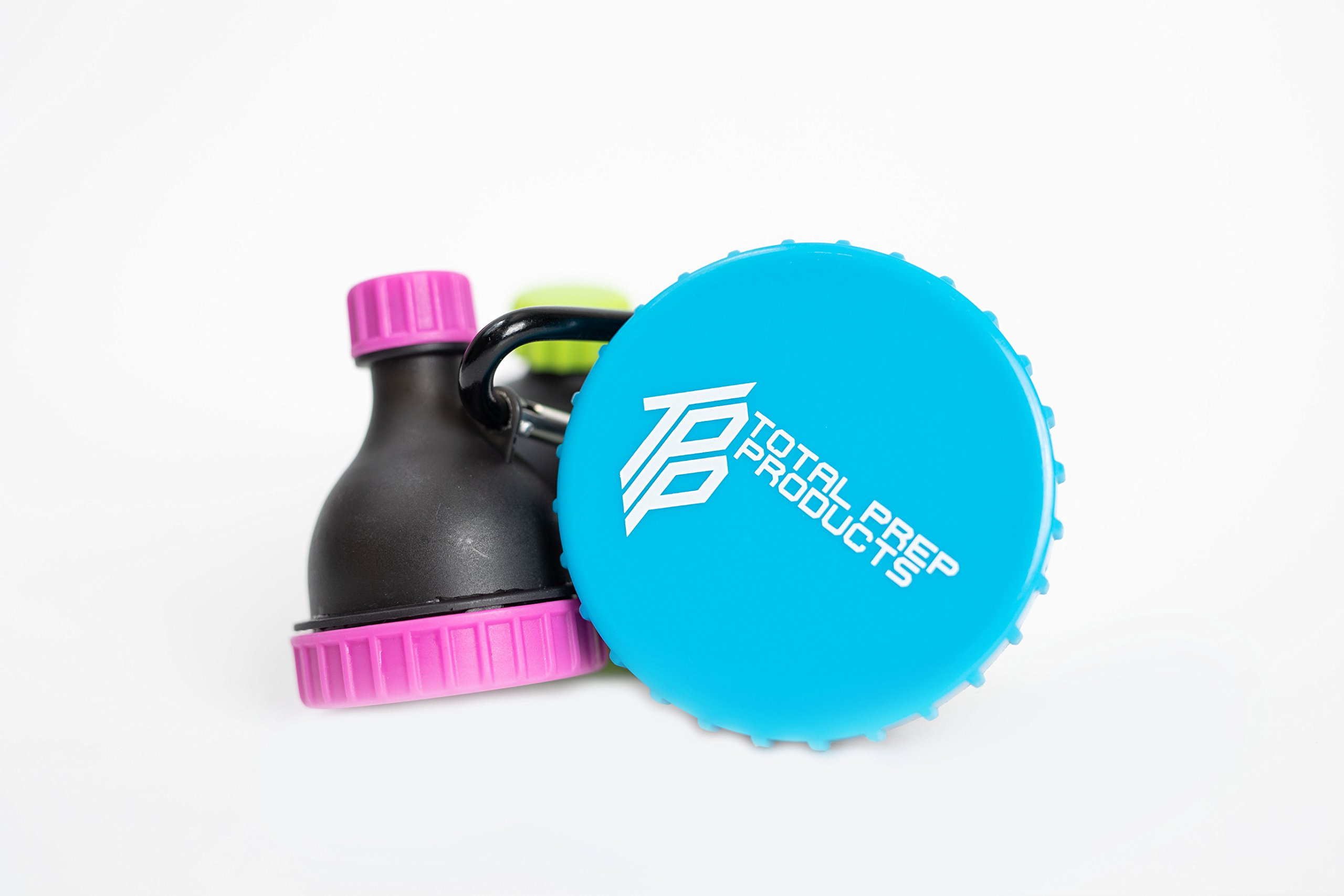 Total Prep Products Portable Protein Funnel BPA Free Non Toxic 3 Pack Multiple Colors by Total Prep Products (Image #3)