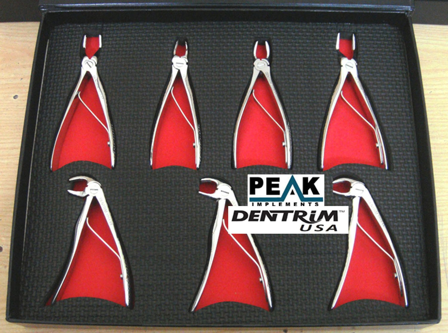 Pedo Extracting Forceps Set Of 7/Pcs