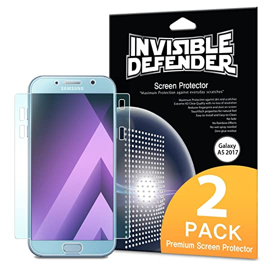 2 opinioni per Pellicola Protettiva Samsung Galaxy A5 2017- Ringke Invisible Defender [Piena