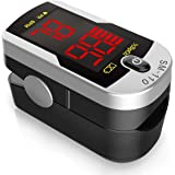 Santamedical Deluxe SM-110 Two Way Display Finger Pulse Oximeter with Carry Case and Neck/Wrist Cord