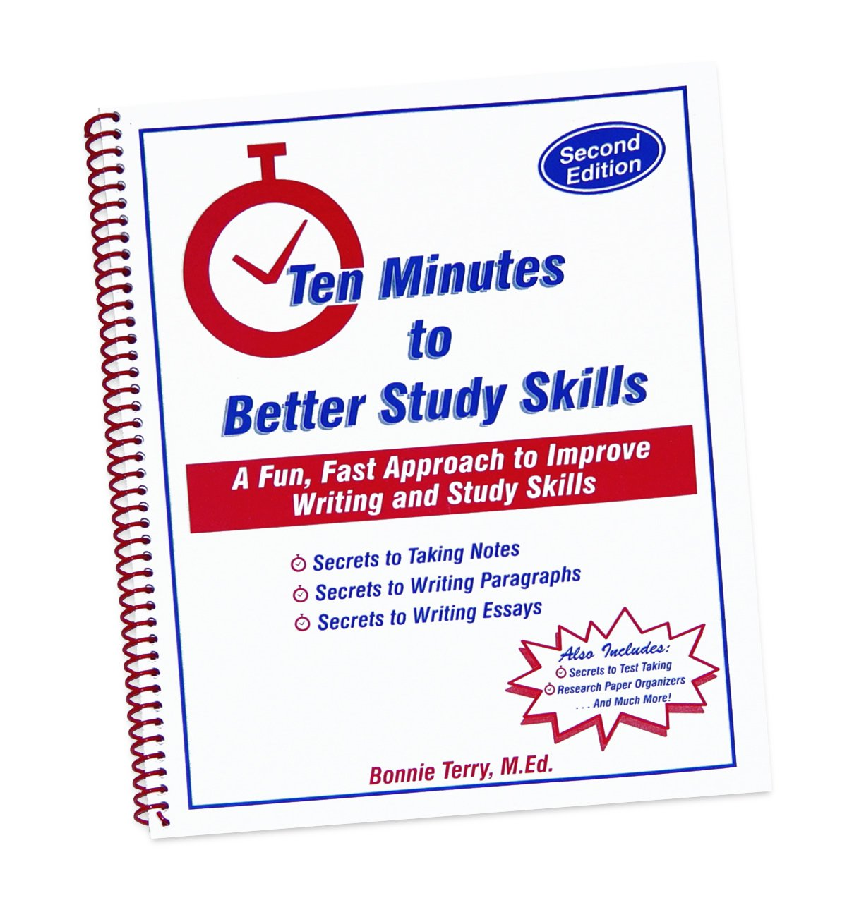 ten minutes to better study skills a fast fun approach to improve ten minutes to better study skills a fast fun approach to improve writing and study skills 3rd edition bonnie terry 0641708701976 com books