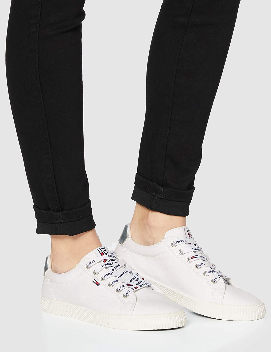 Amazon.com | Tommy Jeans Casual Sneaker