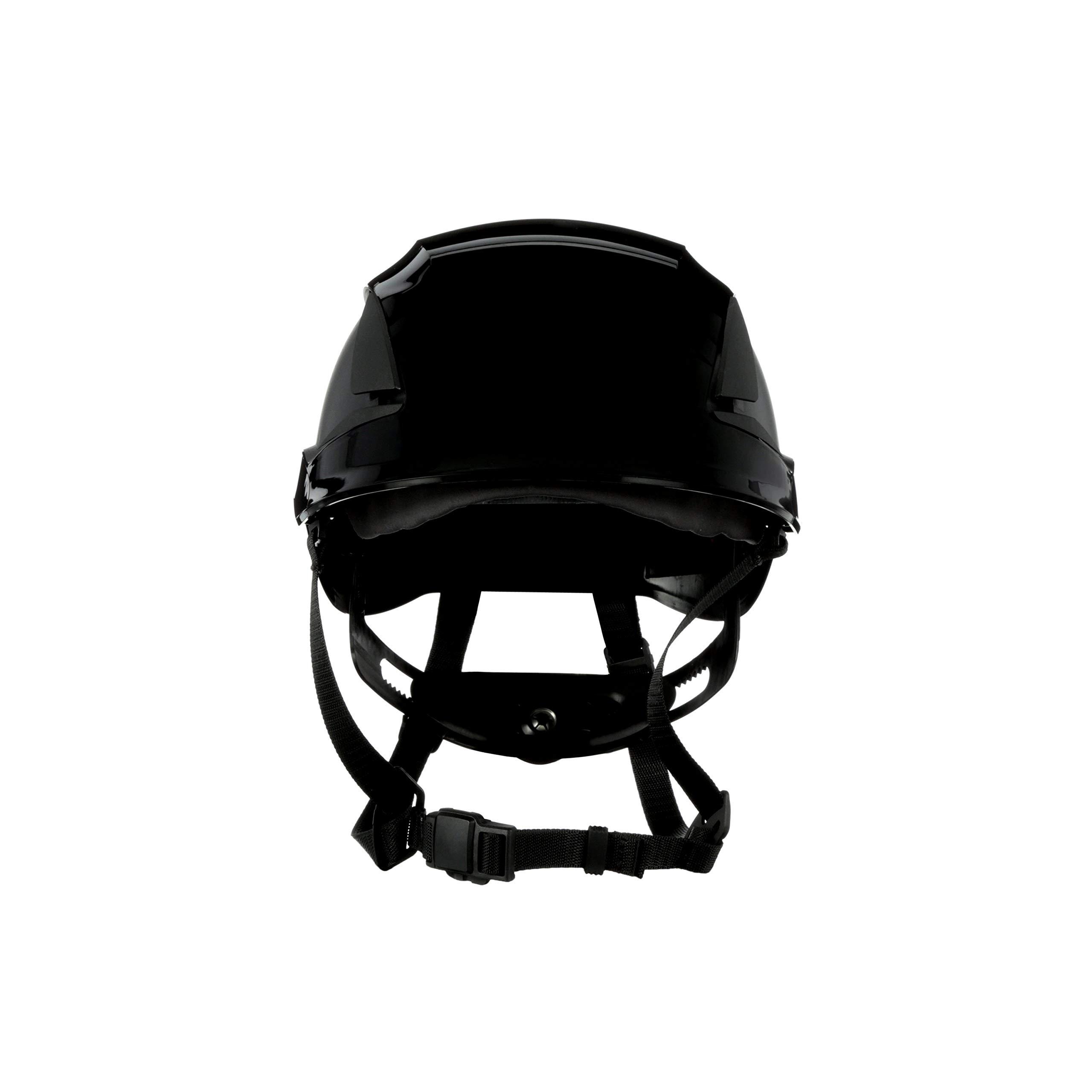 3M SecureFit Safety Helmet, X5012V-ANSI, Black, Vented