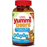 Hero Nutritionals Yummi Bears Multi-Vitamin & Mineral, 200-Count Gummy Bears
