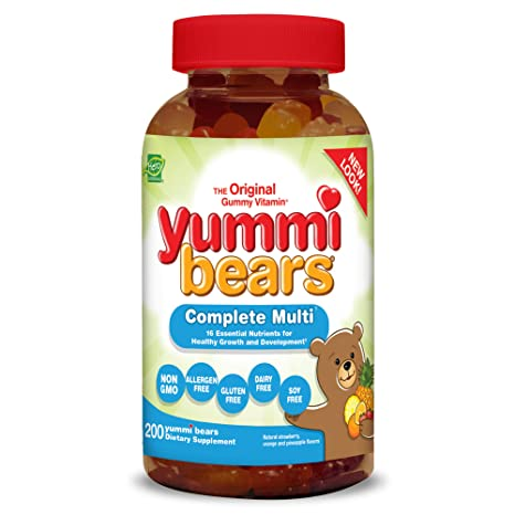 Yummi Bears, completa multi-vitamina - héroe Nutritional Products
