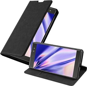 Cadorabo Funda Libro para Sony Xperia XA Ultra en Negro Antracita: Amazon.es: Electrónica