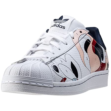 adidas Originals Women's S80289 Trainers White/coloured Size: 9.5
