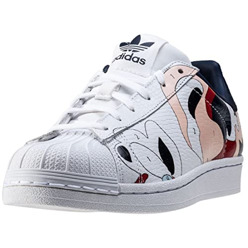 adidas Womens Originals Rita Ora Superstar Trainers in White
