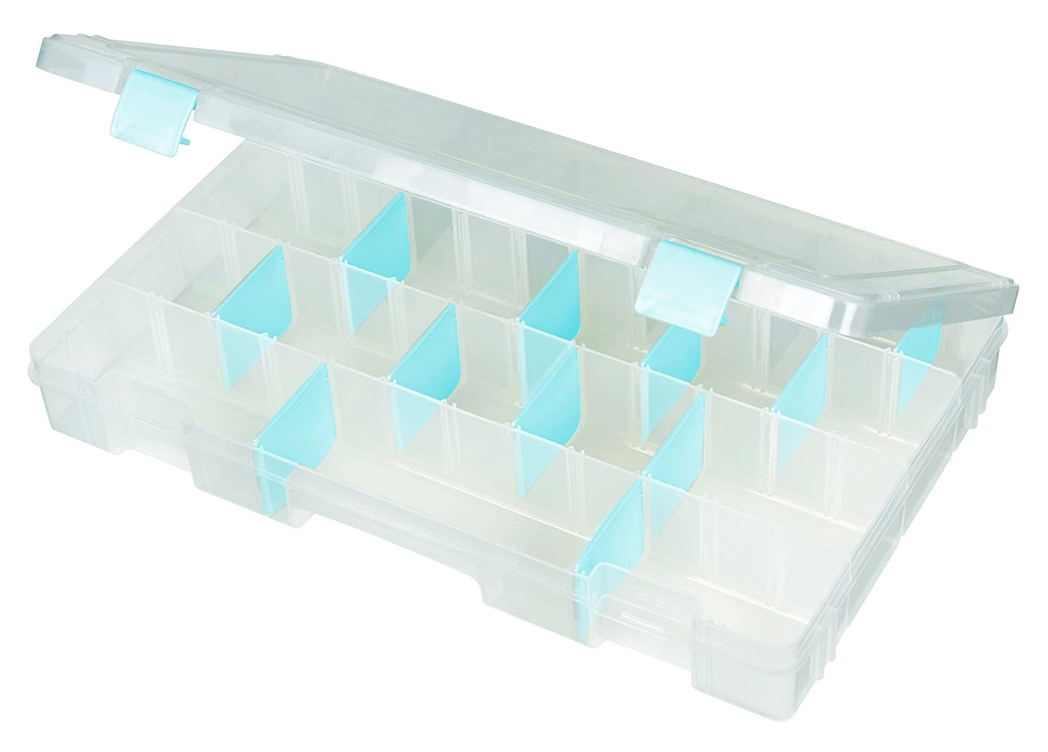 ArtBin Zerust Anti-Tarnish Box Large 4 compt.-Translucent Jewelry Storage Container, 6857AG