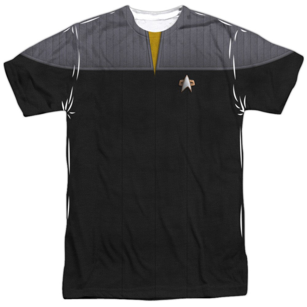 Tng Movie Engineering Uniform Adult All Over Print 100/% Poly T-Shirt Star Trek
