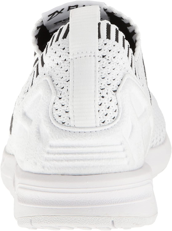 adidas Originals Zx Flux, Baskets mode homme Blanc Noir