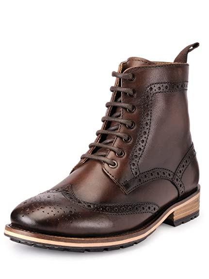 5ed2a2ba3935ed TEAKWOOD Men s Leather Formal Shoe  Buy Online at Low Prices in India -  Amazon.in