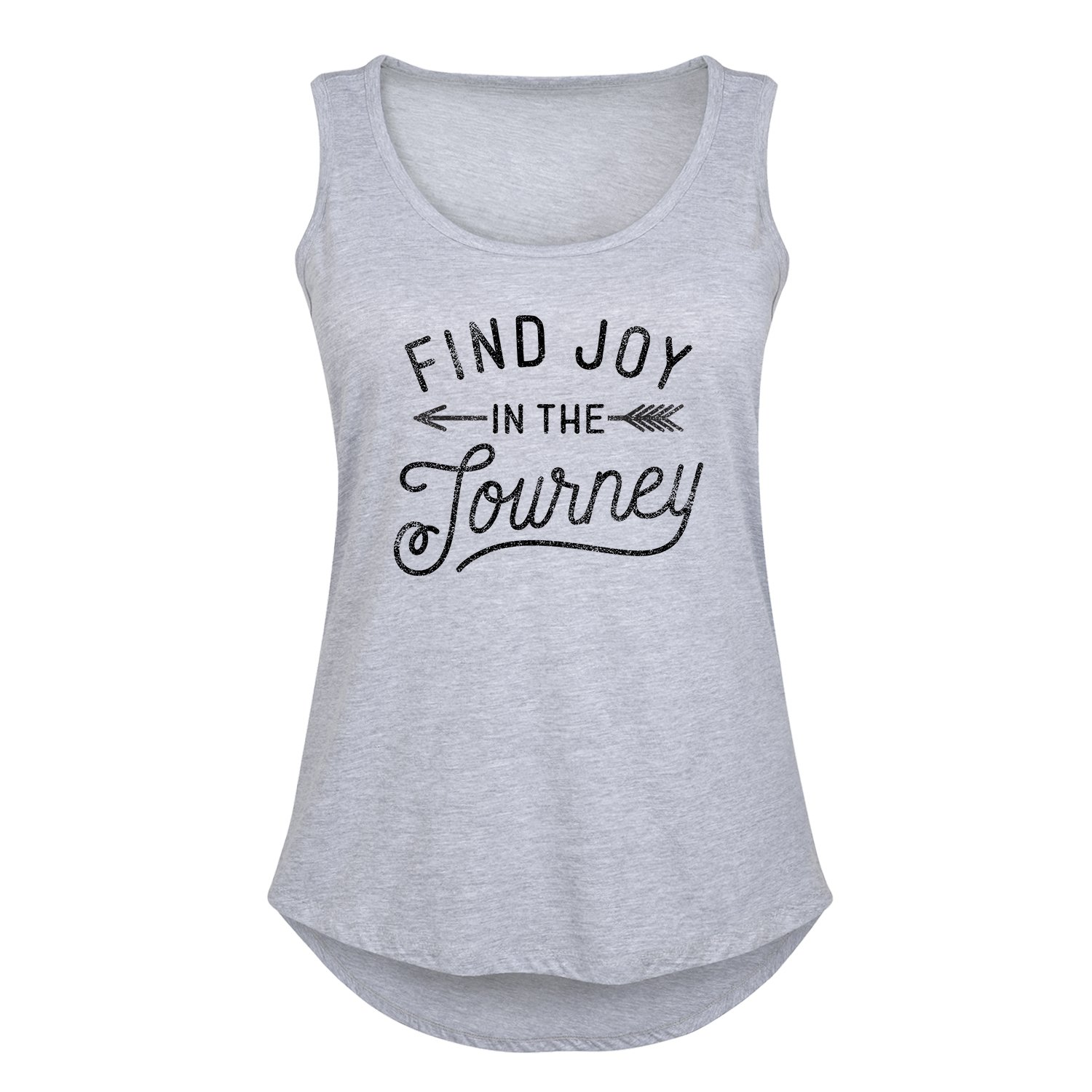 3c70bd6ad3e Amazon.com  Find Joy in The Journey - Ladies Plus Size Tank  Clothing