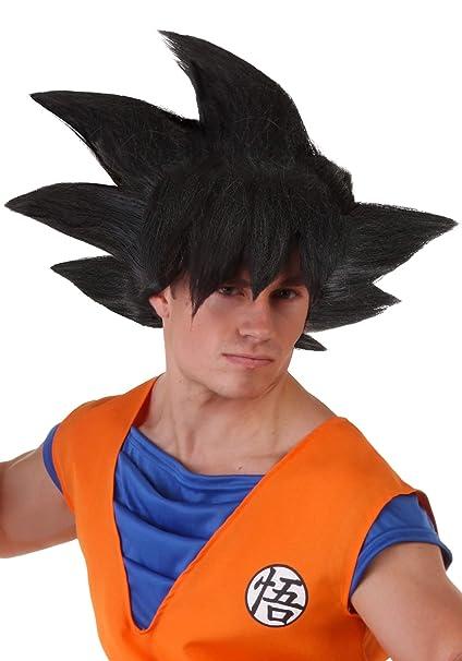 Amazon.com: Disfraces de Fun Mens adultos Goku peluca ...