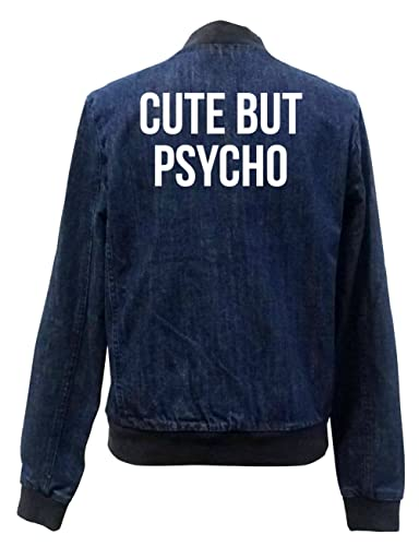 Cute But Psycho Bomber Chaqueta Girls Jeans Certified Freak