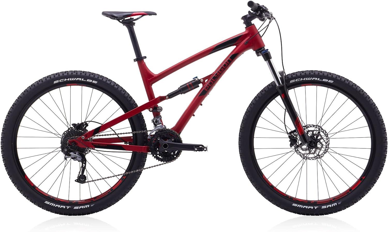 Polígono bicicletas, siskiu D5, rojo, Full de suspensión para bicicleta de montaña