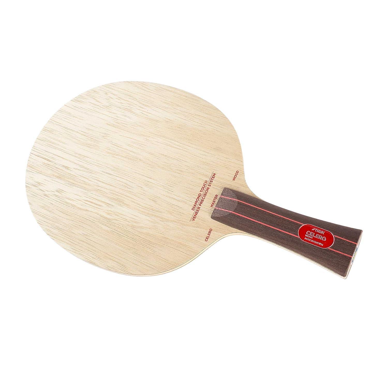 Stiga Unisex's Celero Wood Diamond Touch Classic Grip 5-ply Blade, Tree, One Size 107237
