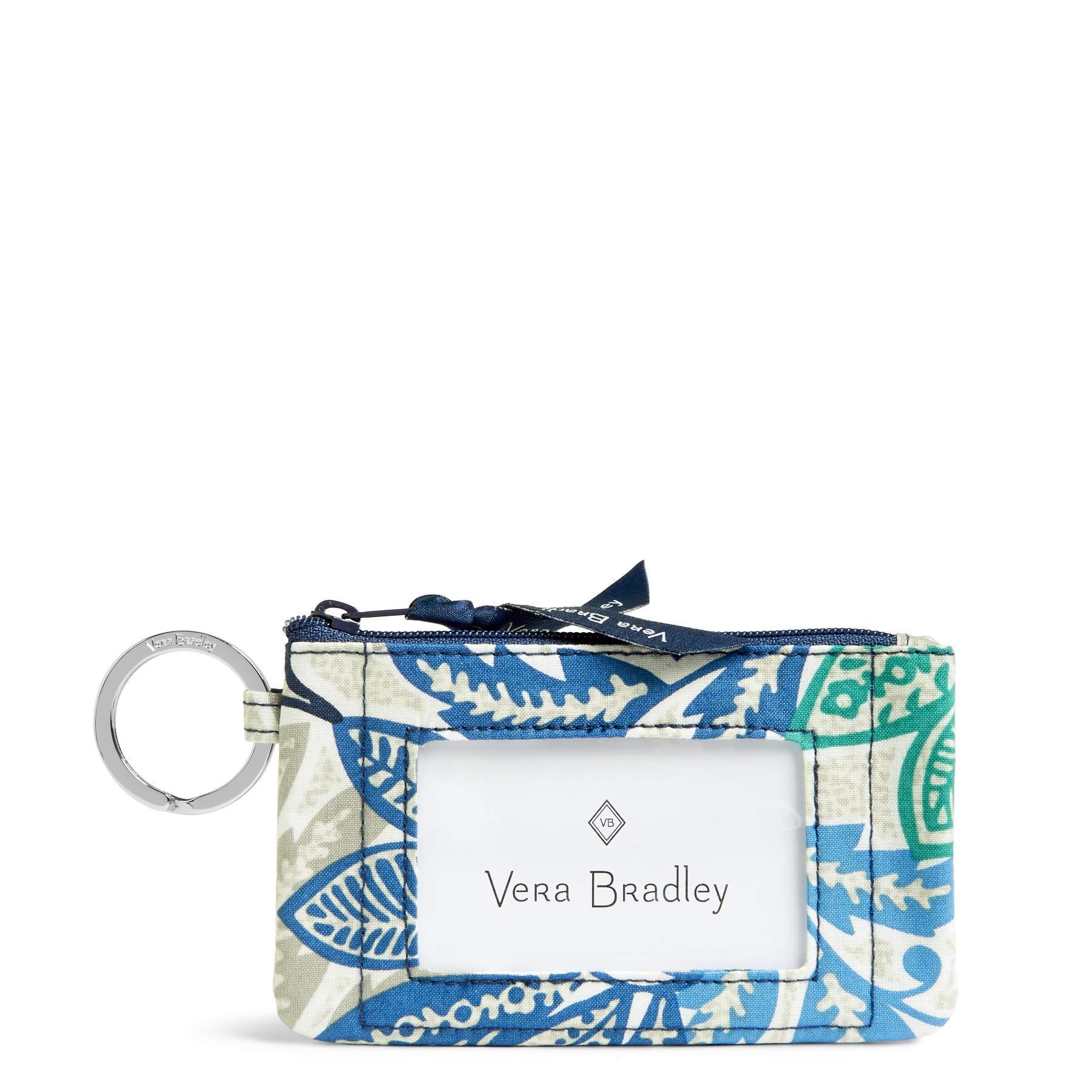 Vera Bradley womens Zip Id Case, Santiago, One size