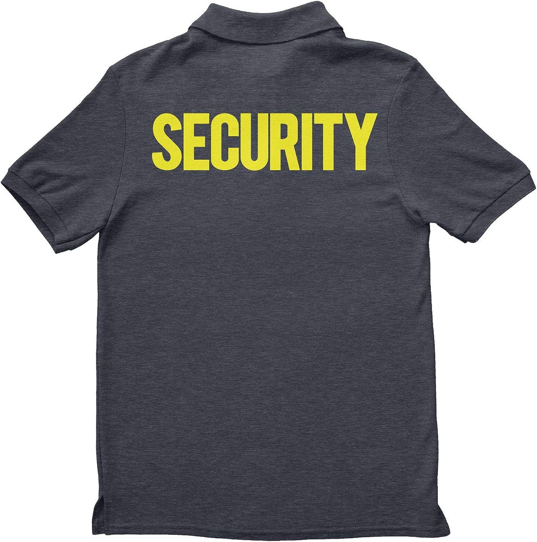 NYC FACTORY Polo de Seguridad para Hombre de la Marca Gris - Large ...