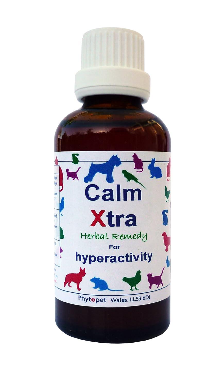 Phytopet Calm Xtra Remède aux herbes contre l'hyperactivité des chiens 30ml CAP30