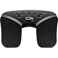 Moukey Wireless Page Turner Pedal for Tablets ipad Rechargeable Black