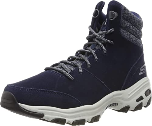 Skechers Damen D'lites Chill Flurry Kurzschaft Stiefel