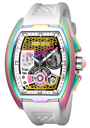 0263a4481 Image Unavailable. Image not available for. Color: Invicta Men's 25939 S1  Rally Quartz Multifunction Pink, Gunmetal Dial Watch
