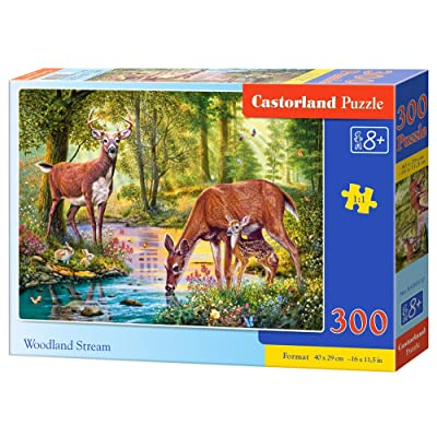 Castorland B-030132 - Puzzle - Famille de cerfs - 300 Pièces