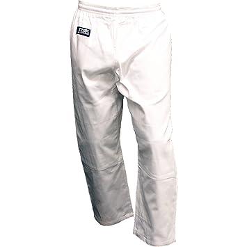 Amazon.com : Piranha Gear Uniform Pants - Elastic Waist : Martial ...