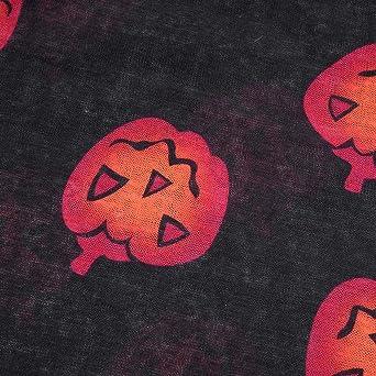 Luckycat Las Mujeres de Moda de Manga Larga con Cuello en V Calabaza Imprimieron la Camiseta Rasgada Superior de la Blusa de Halloween: Amazon.es: Ropa y ...