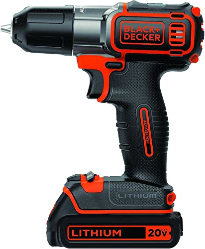 BLACK DECKER BDCDE120C 20V MAX Lithium-Ion Drill Driver with Autosense Technology