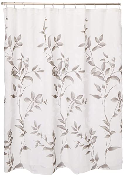 Amazon Madison Park Cecily Printed Shower Curtain Grey 72x72