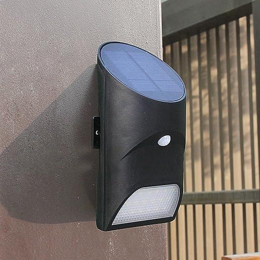 Lámpara solar para exterior con detector de movimiento, 100 Lúmenes, escaleras, valla, Patio, prohibida, pavimentos inalámbrica panel solar luz: Amazon.es: ...