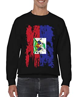Tenacitee Unisex American Grown with Guadeloupe Roots Sweatshirt